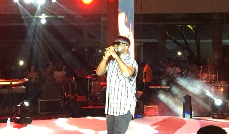 Watch: Sarkodie's performance at Fuse ODG's #KenteParty