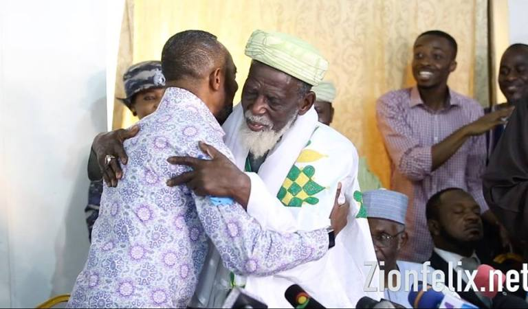 Rev. Owusu Bempah visited and apologized to Chief Imam