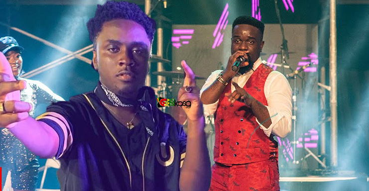 Watch: Sarkodie introduces a new rapper call YRS