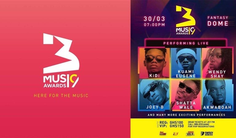 #3MusicAwards19: All is set, all roads lead to the Fantasy Dome on March 30