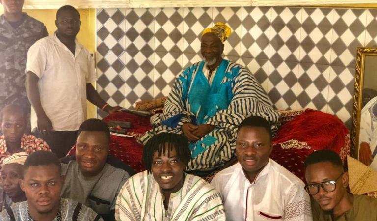 Fancy Gadam crowned 'Music King', Peace Ambassador of Dagbon Kingdom