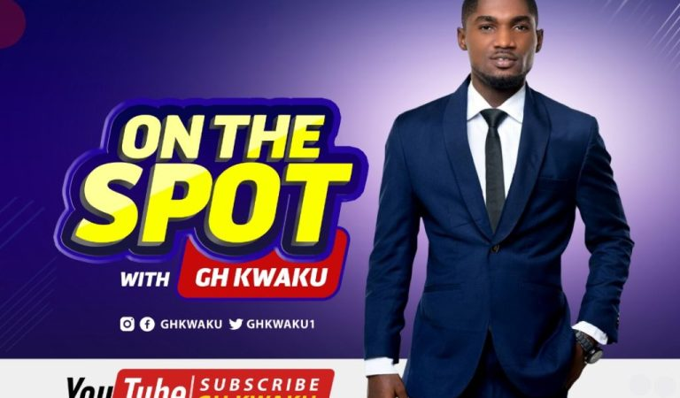 "Blogger, Gh Kwaku introduces YouTube Talkshow ""On The Spot"""