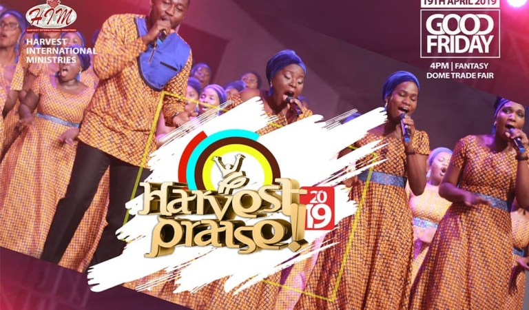Harvest Praise 2019 to air live on DStv & GOtv on Good Friday