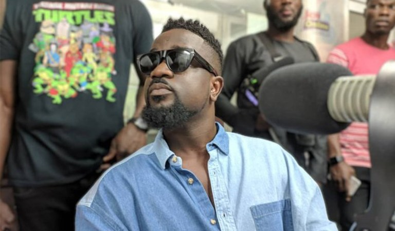 """My first performance was to create attention, it's for anyone"" – Sarkodie"