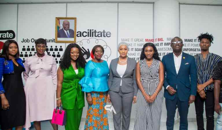 Kwesi Arthur, Wendy Shay, Bola Ray, Bibi Bright and others made Youth Employment Ambassadors
