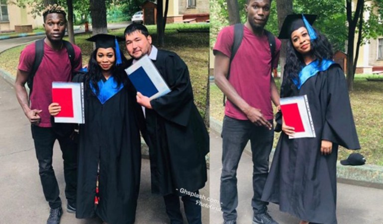 Female Blogger Candace graduates with first class in economics