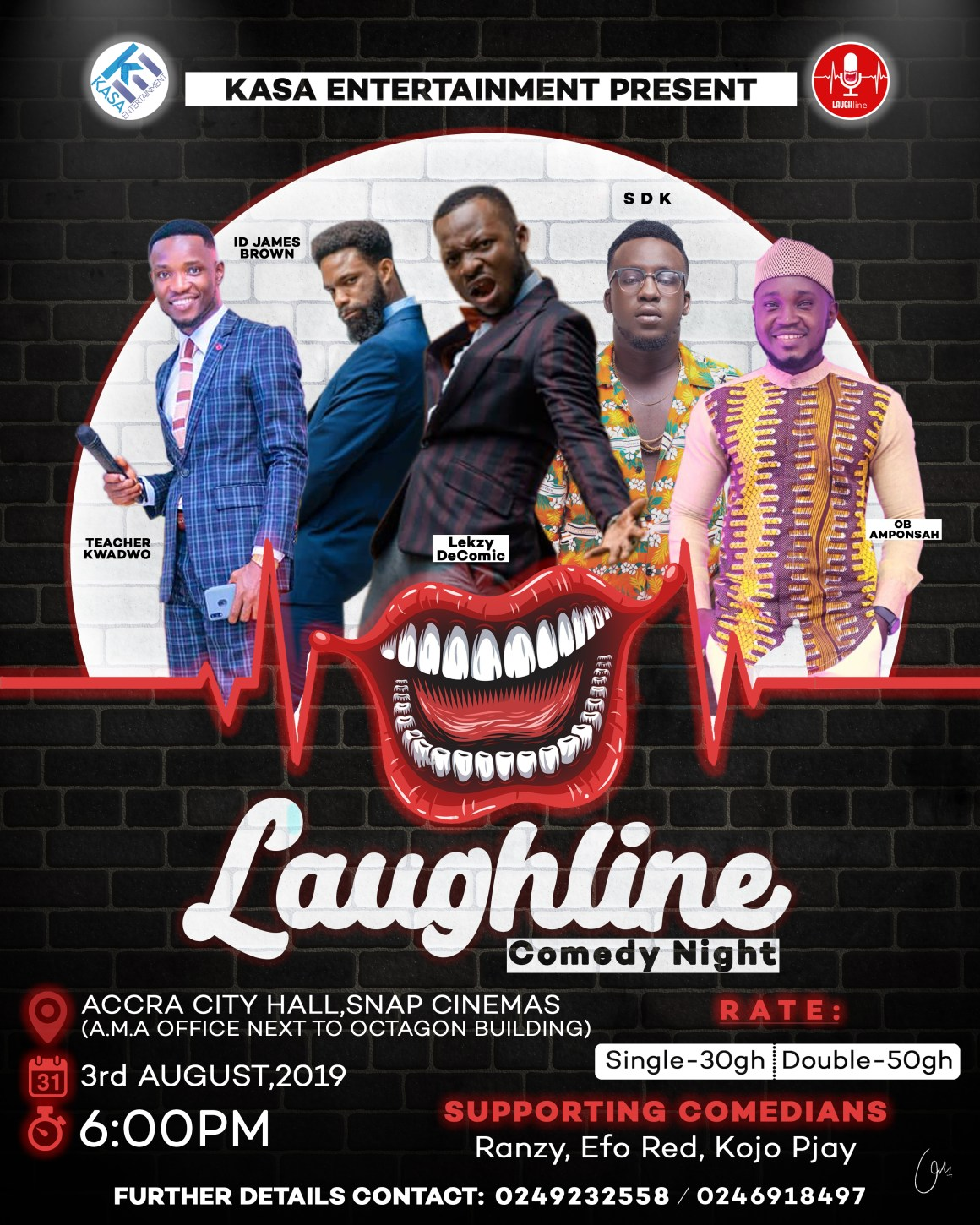Laughline Comedy Show, Year Of Return, Laughline