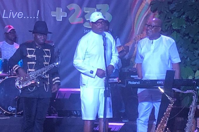 Photos: Samuel L. Jackson arrives in Ghana for documentary on slavery