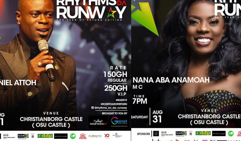 Nana Aba Anamoah, Nathaniel Attoh to host Rhythms On Da Runway Year of Return Edition