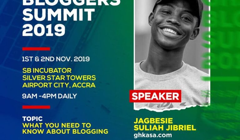 CEO Of JS Media, Jagbesie Jibriel To Speak At 2019 Ghana Bloggers Summit