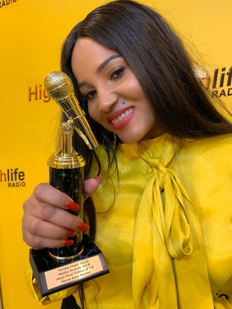 Nana Ama Morton, most viral video, Variety Night Social Media Awards