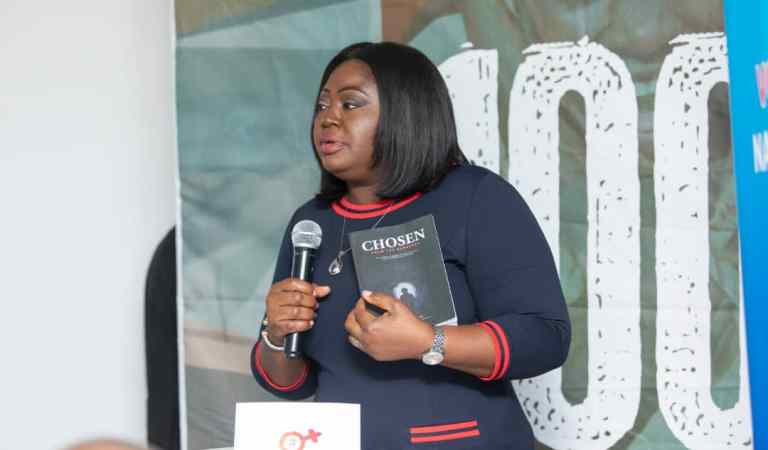 Regional CEO Of UBA Abiola Bawuah launches new book 'Chosen from the Darkness' To Fund 'The 100 girls project