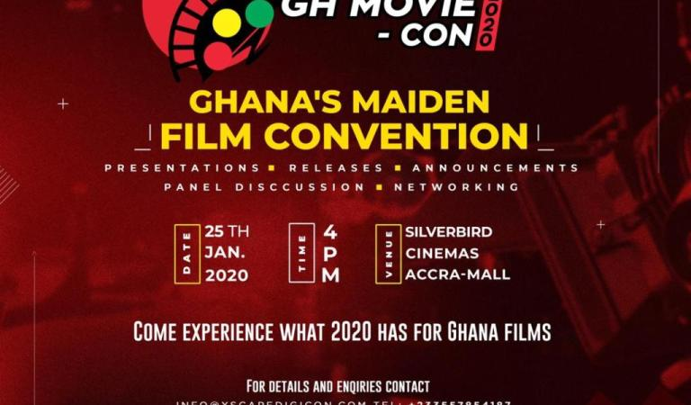 """Ghana's maiden Film Convention """"GhMovie- Con"""" to be held in January 2020"""