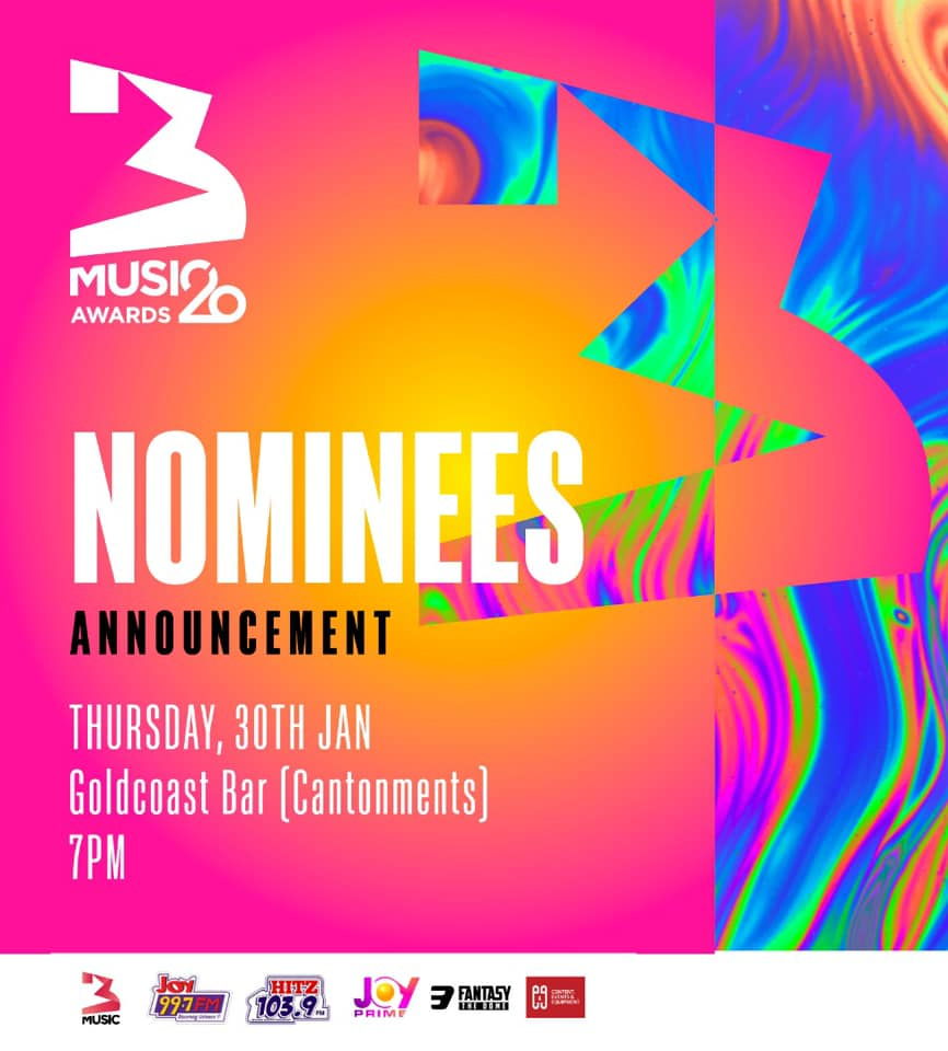 3 Music Awards , Nominations