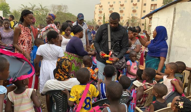 Roman Ridge and other communities to get exercise books and other stationery from John Dumelo Foundation