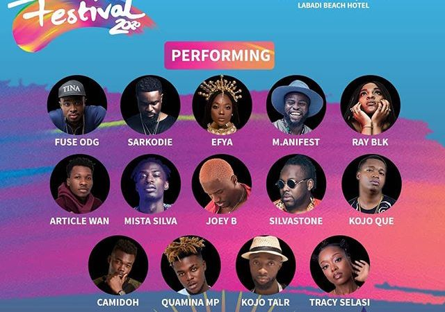 Fuse ODG, Sarkodie, Manifest, Efya and others billed for Kente Party at Labadi Beach Hotel today