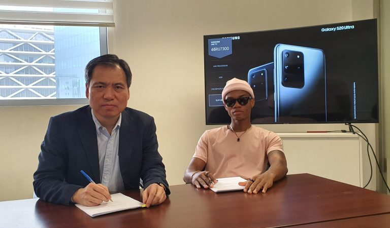 KiDi now Ambassador for Samsung Ghana