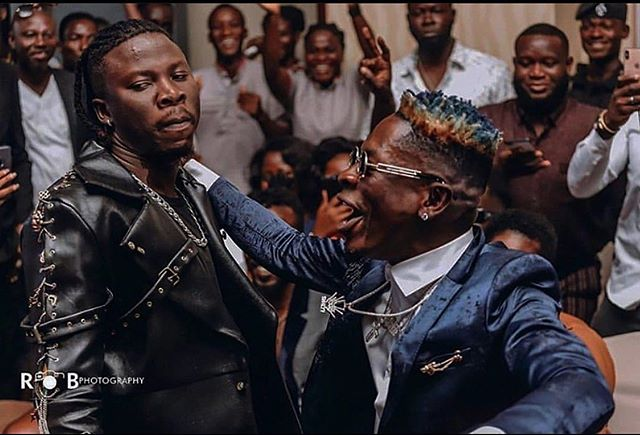 Shatta Wale follows Stonebwoy's steps to perform live band