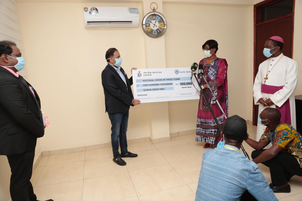 Jay Kay Industries and Investments Ltd, Covid-19, Donation