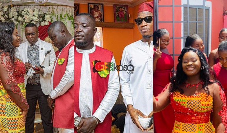 Popular Hitz Fm Radio Host Dr Pounds Ties The Knot
