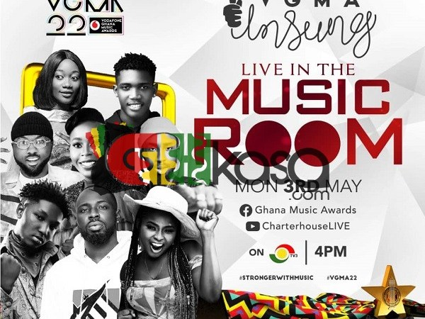 Vodafone Ghana Music Awards Unsung Show To Air On Monday, May 3