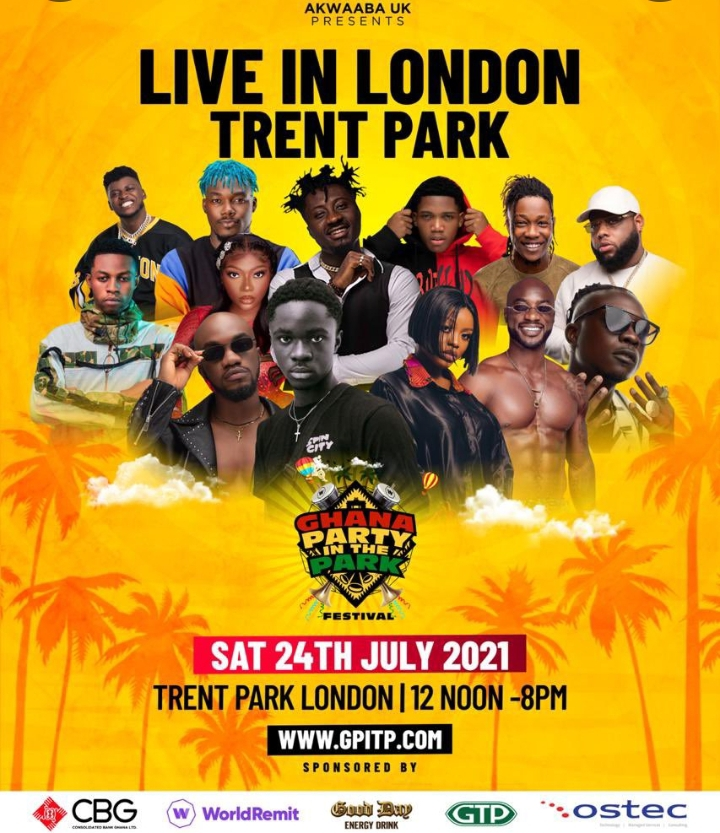 Sarkodie, Ghana Party In The Park Festival