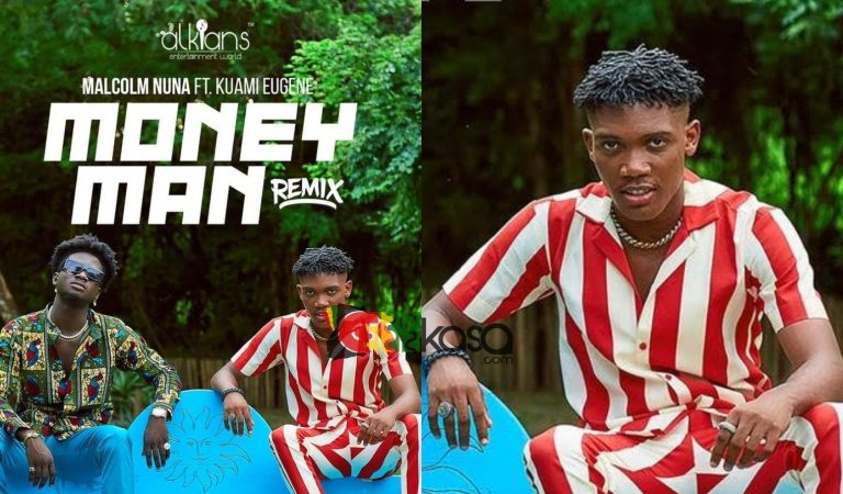 """Malcolm Nuna works on a remix of his """"Money Man"""" hit song"""