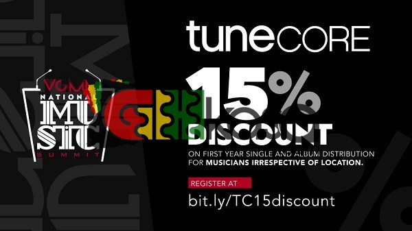 Tunecore In Partnership With The 22nd Vodafone Ghana Music Awards Extends Promotional Discount To All Ghanaian Musicians