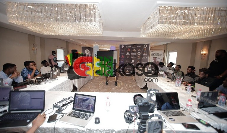 Shatta Wale, Splice & Code Management Group Amplify African Producers Through Youngtrepreneurs Initiative