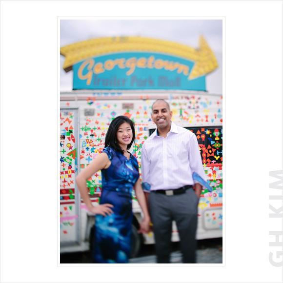 Catherine & Anil