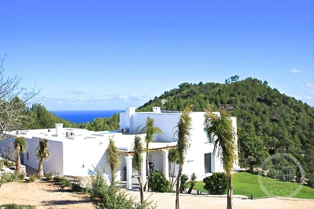 Private villa with breathtaking views
