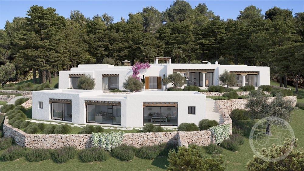 800m2 Blakstad villa project on a magical plot