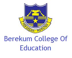 Berekum College of Education Admission Form