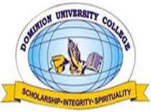 Dominion University College admission letter