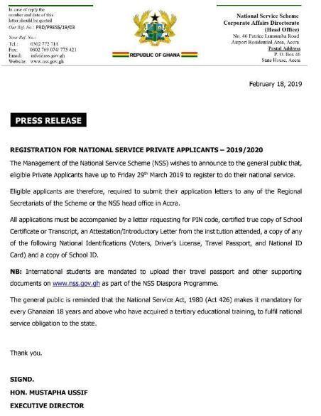 National Service Scheme (NSS) Registration