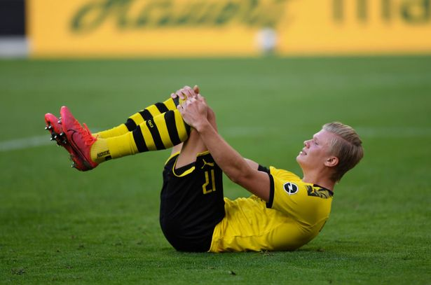 Erling Haaland injury latest after Borussia Dortmund ace subbed in Bayern Munich defeat