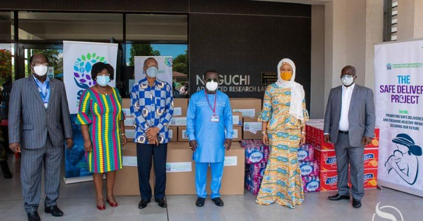 Samira Bawumia supports Noguchi Memorial Institute for Medical Research