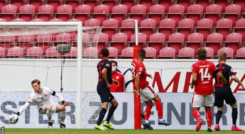 Timo Werner scores three in Leipzig rout