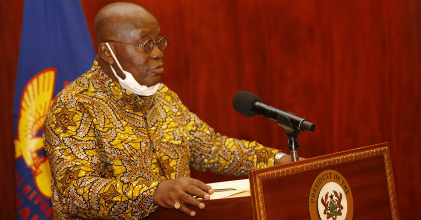 President Akufo-Addo gives conditions for easing COVID-19 restrictions