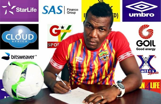 Hearts of Oak completes Abednego Tetteh signing