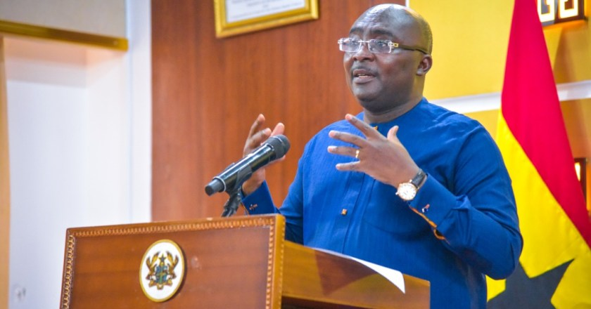 Akufo-Addo Administration doing better in crisis management- Veep