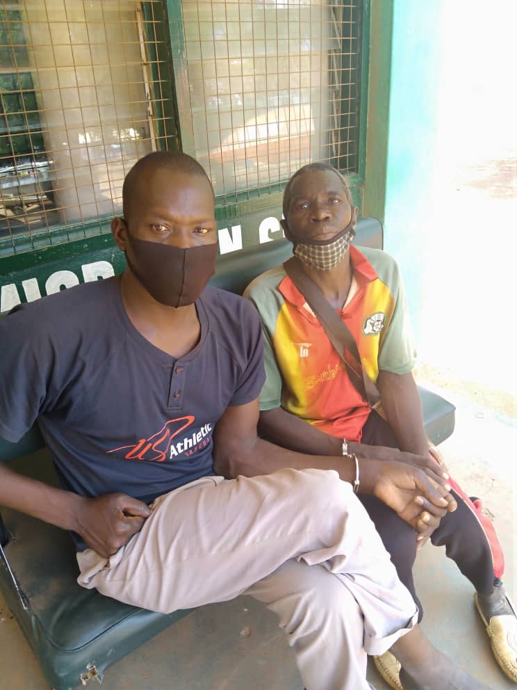 Four Burkinabe nationals nabbed for migrating to Ghana illegally