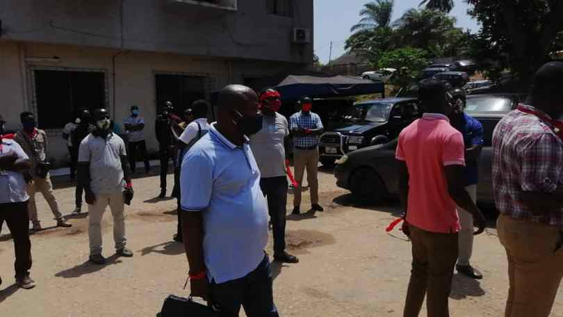 Unipass scandal update: demonstration ongoing in Takorai