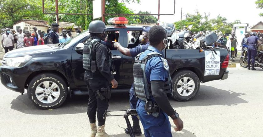 Tema Police arrest seven over missing robbery money