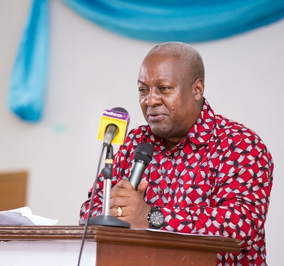Mahama calls on Voltarians to register in their numbers