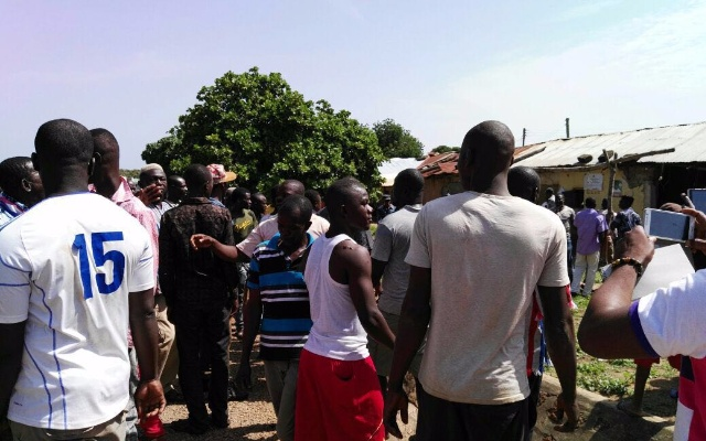 Irate NPP youth on rampage