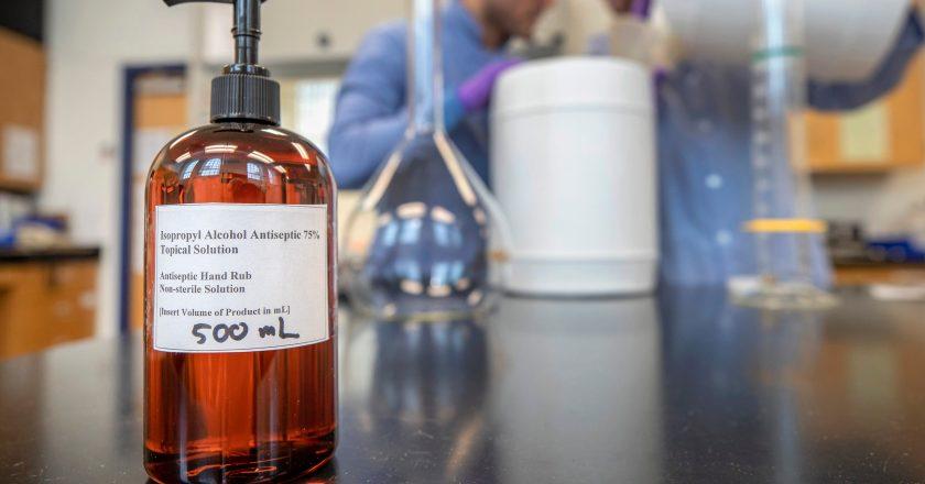 Kasapreko gets StanChart support to upscale hand sanitizer production