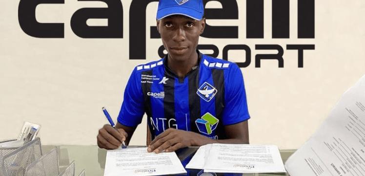 Inter Allies defender Frank Assinki Makes HB Koge Switch