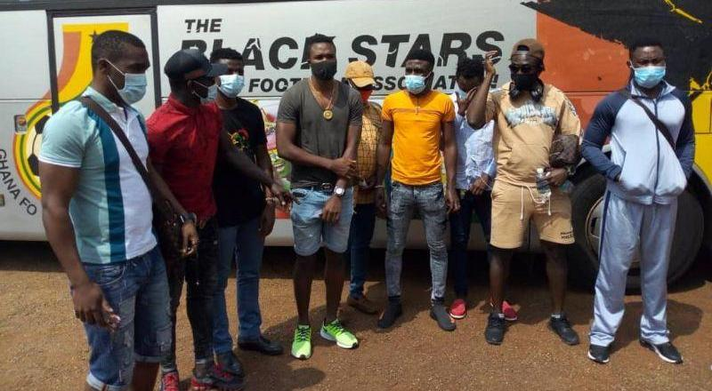 Ghanaian players released after mandatory quarantine