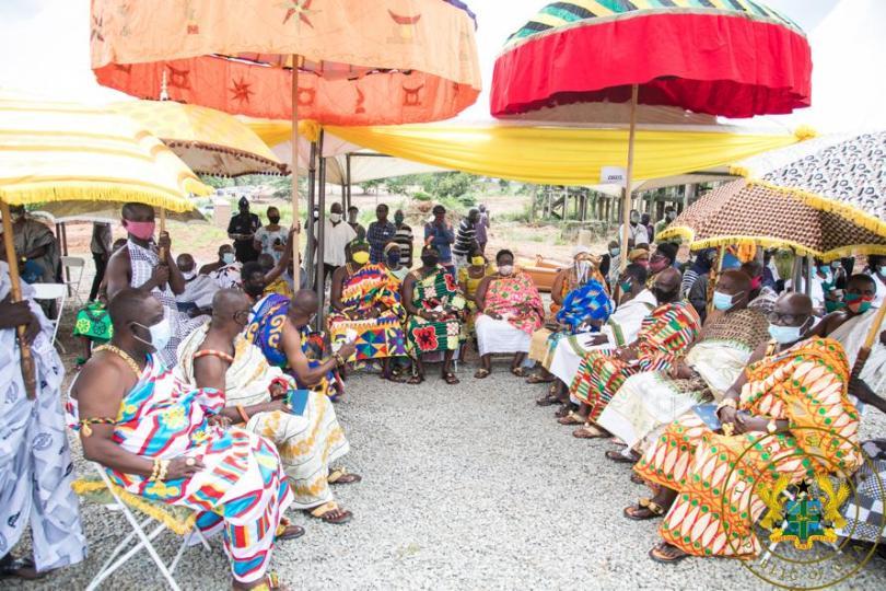 President Akufo-Addo cuts sod for €70 million Eastern Regional Hospital